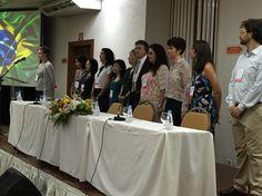 Abertura do 1° Congresso Internacional de Brainspotting Hino Navional