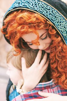 Would this not be the best job in the world? Merida Disney Model