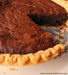 Mo-cocoa (Chocolate Coffee) Pie  http://yummyluv.blogspot.com/2012/11/we-dont-even-live-here-yet.html
