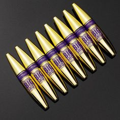 Introducing, Maybelline The Colossal Big Shot Mascara. Get your biggest, boldest, bossiest eyelashes with just one swipe. The Big Shot brush features unique, wavy bristles that cradle lashes, while the collagen formula delivers bold voluminous lashes.