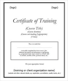 Certificate of participation template key components to include certificate of training template free free training certificate template and designing one yourself for easy yadclub