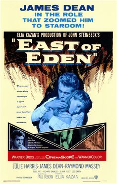 East of Eden. One of my all time favorites and Dean's most powerful performance.