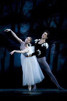 "Evgenia Obraztsova and Mathieu Ganio in Giselle. Photo by Oleg Tchernous for the Stanislavsky and Nemirovich-Danchenko Ballet. """