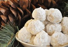 My favorite all-time cookie.  We call it Russian Tea and is part of our Christmas cookie repertoire.