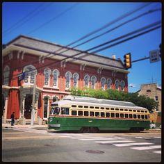 #DidYouKnow: #streetcars still run in Philadelphia, PA.