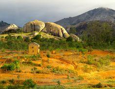 Champs et culture à Madagascar