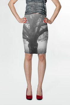 Tree Fitted Skirt $36.00 AUD by Moonriver Clothing