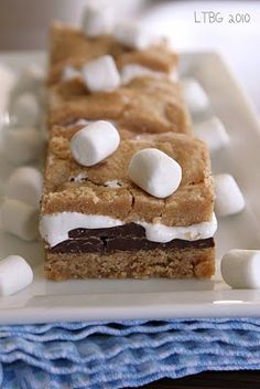 S'mores bars.  Fun Halloween treat