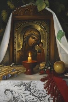"""Correct your own sins. Do not lose your temper with those who sin. Do not have a passion for noticing every sin in your neighbor and judging it, as we usually do.Everyone will give an answer for. Modern Quotes, Images Of Mary, Religious Pictures, Russian Painting, Madonna And Child, Blessed Virgin Mary, Guardian Angels, Orthodox Icons, Blessed Mother"
