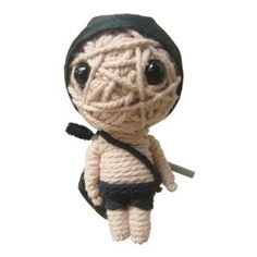 String Voodoo Doll Keychain Highway Boy Classic Doll Series From Thailand Free Shipping