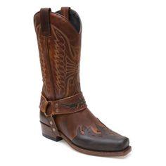 Sendra Boots 7862 58 Seta Sp. Chocolate/Ev.Tan #ShopBoots #Botasonline #botas #boots #sendra