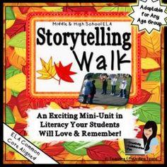 Storytelling with Rubrics Teaching Materials, Teaching Tools, Teaching Resources, Teaching Ideas, Teaching Writing, Teacher Helper, School Teacher, Middle School Writing, Teaching Language Arts