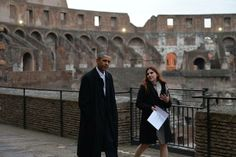 Obama nell'arena del Colosseo - Primopiano - Ansa.it