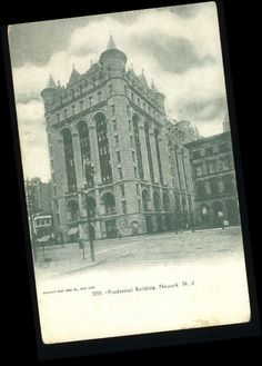 Old Photos of Newark NJ | Old Postcard-Prudential Building-Newark,New Jersey/NJ