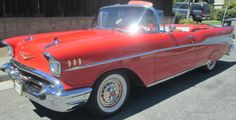 1957 Chevrolet Bel Air Convertible - Image 1 of 17 Classic Chevrolet, Chevrolet Bel Air, 57 Chevy Bel Air, Car Museum, Love Car, Dream Garage, Old Cars, Cars For Sale, Hot Rods