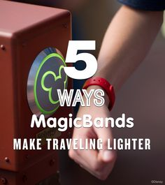 Click to Learn 5 Ways MagicBands Make Traveling Lighter at Walt Disney World!