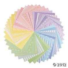 Pastel Paper Pack