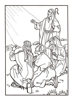 Nativity Coloring Pages, Fairy Coloring Pages, Cat Coloring Page, Bible Coloring Pages, Coloring Pages For Kids, Coloring Books, Felt Christmas Ornaments, Christmas Cards To Make, Christmas Colors