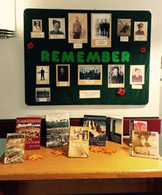 Remembrance Day, Display Ideas, Public, War, Frame, Picture Frame, Anniversaries, Frames