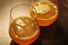 Kate Miss' Maple Sour | whiskey or bourbon (I prefer Makers Mark or Knob Creek), Meyer lemon, maple syrup