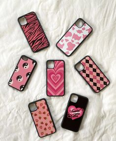 Pink aesthetic phone cases