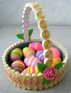 *QUILLING ~ Easter eggs 2011 - 41 Pics | Curious, Funny Photos / Pictures