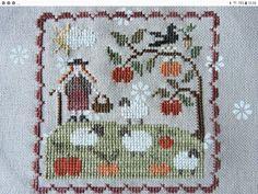 Lambs, Primitives, Needlework, Cross Stitch, Kids Rugs, Embroidery, My Love, Painting, Punto De Cruz