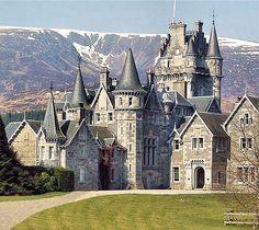 Ardverikie Castillo, Kinlochlaggan, Newtonmore ,   Escocia.