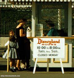 "Sorry about the ""missing"" photos yesterday. My webhost company performed the dreaded deed a few days ago. Old Disney, Disney Art, Walt Disney World, Disney Pixar, Disney Style, Disney Love, Disney Magic, Disneyland Tickets, Vintage Disneyland"