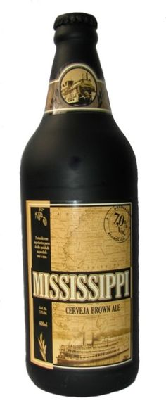 Cerveja Mississippi, estilo American Brown Ale, produzida por Mistura Clássica, Brasil. 7% ABV de álcool.