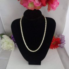 10% off 3152017 Vintage Silvertone Chain Necklace that is 18 inches long and is a Rope Chain. Free Shipping to the United States. There are two coupons to use. Check out the coming attractions for next week too.  CCCsVintageJewelry.com     Retu