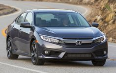 Honda Civic Front Driving