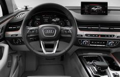 2016 Audi Q7 will arrive with a refined MMI, virtual cockpit and Android tablet for passengers