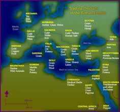Trading Products in the Roman Empire