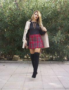 aula Fraile body fashion pills amaras la moda falda benetton bolso Michael Kors7