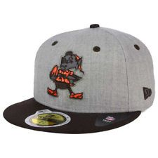 Cleveland Browns New Era NFL Total Reflective 59FIFTY Cap Hat Fitted Elf  Logo OH df0b30112