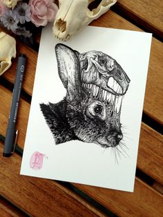 name }} {{ head_content }} We're working on our site at the moment Please check back soon Moose Skull, Moose Art, Paul Jackson, Rabbit Head, Skull Illustration, Chest Tattoo, Skull And Bones, Life Tattoos, Inked Girls
