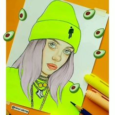 """nursema on Instagram: """"Which song is better? 🥑 Which is Billie's love ...   nursema on Instagram: """"Which song is better? 🥑 What is Billie's favorite song? 😍. . . . . . . . #nnursema #billieeilish #badguy #billie   Best Picture For  hipster drawing style  For Your Taste  You are looking for something, and it is going to tell you exactly what you are looking for, and you didn't find that picture. Here you will find the most beautiful picture that will fascinate you when called  hipster"""