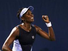 Venus Williams spoils Azarenka's party Tennis Match, Sports News, Tank Man, Venus, Mens Tops, Soccer, Party, Football, Futbol