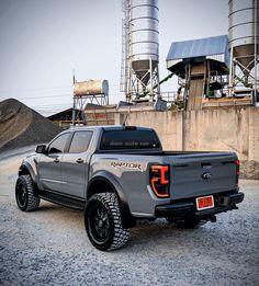 Ford Raptor Truck, Ford Ranger Raptor, Ford Pickup Trucks, Car Ford, Custom Trucks, Custom Cars, American Dream Cars, Ranger Truck, Terrain Vehicle