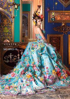 Stella De Libero Creations from a 2014/15 wedding dress collection - See more at: http://welldonestuff.com/fantastical-stella-de-libero-creations/#sthash.byhbzhJp.dp