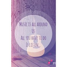 Music makes me damn happy. Just listen, and you'll hear it !
