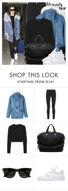 """""""2152. Celebrity Style: Bella Hadid"""" by chocolatepumma ❤ liked on Polyvore featuring Yves Salomon, Oris, Acne Studios, Proenza Schouler, Givenchy, Ray-Ban, women's clothing, women, female and woman"""