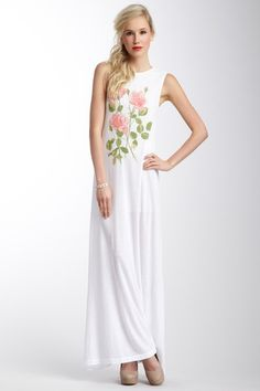 Wildfox Couture South of France Antoinette Maxi Dress//