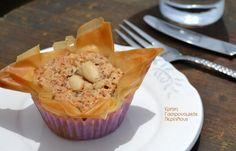 Muffin, Sweets, Breakfast, Cake, Desserts, Food, Greek Recipes, Recipe, Morning Coffee