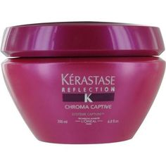 a rich color intensifying masque for colour treated hai formulated with cationic polymers ceramide candelilla wax a fibrionic system helps eliminate - Kerastase Cheveux Colors