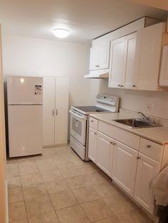 Basement basement apartment for rent Basement Apartment For Rent, Rent Apartment, Toulouse, Ikea, New Stove, Kallax Regal, White Curtains, Basement Remodeling, New Kitchen