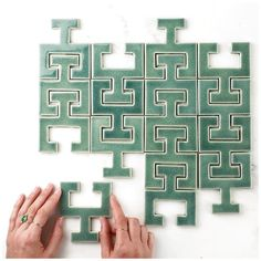 Fireclay tile Chaine