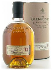 The limited release of vintage Glenrothes has been distilled during one particular year. In the cool, damp conditions found only in the finest Scottish HIghland distilleries, The Glenrothes is left to mature in oak casks for many, many years, allowing this pale, amber coloured malt to develop an aroma of great finesse hinting delicately of peat. During this long maturation it will be meticulously checked, nosed and tasted. Only when it has reached its peak of perfection is
