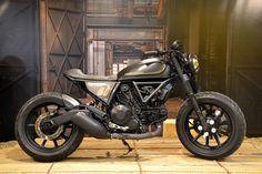 Ducati Scrambler 'Revolution' by Officine Mermaid